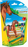 PLAYMOBIL 9259 COUNTRY Horse Therapist with Horse set