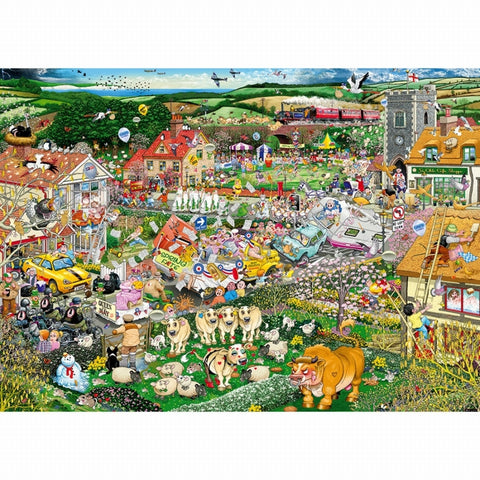 Gibson I LOVE SPRING 1000pc jigsaw