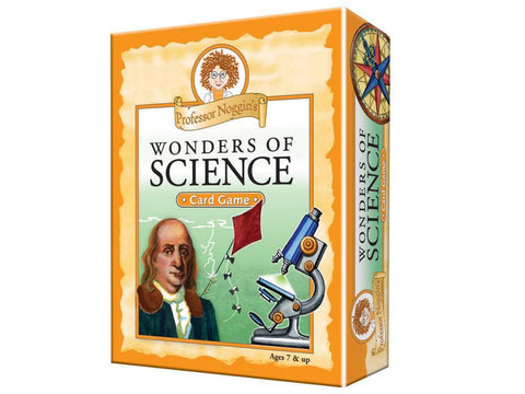 Professor Noggin's WONDERS OF SCIENCE Card game