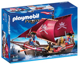PLAYMOBIL 6681 PIRATES Soldiers' Cannon Boat