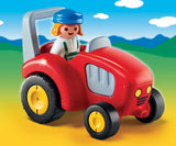 PLAYMOBIL 1.2.3 Tractor with Lady Farmer