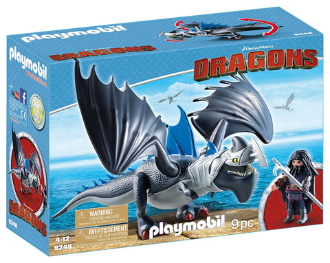PLAYMOBIL 9248 DRAGONS Drago & Thunderclaw set