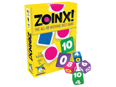 ZOINX Dice Game by Gamewright