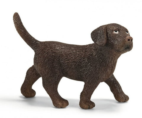 SCHLEICH 16388 Chocolate Labrador Puppy