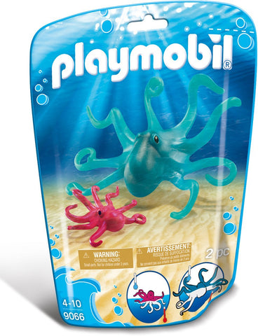 PLAYMOBIL 9066 AQUARIUM Octopus with Baby