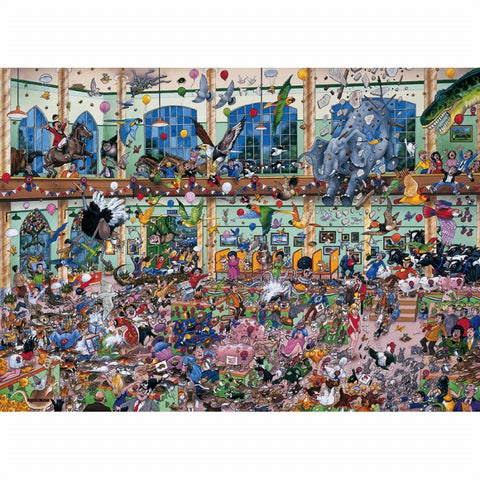 Gibson I LOVE PETS 1000pc jigsaw