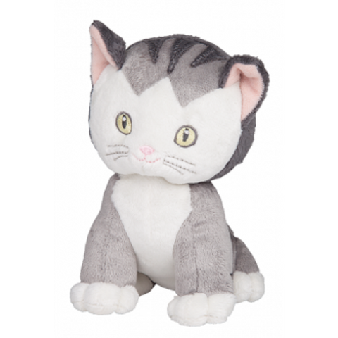SHY LITTLE KITTEN beanie toy plush 15cm