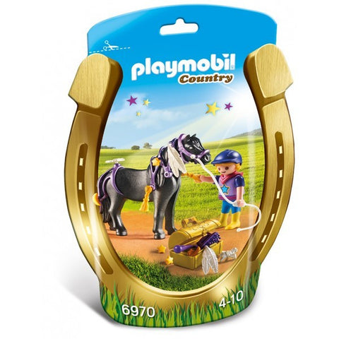PLAYMOBIL 6970 Groomer with Star Pony