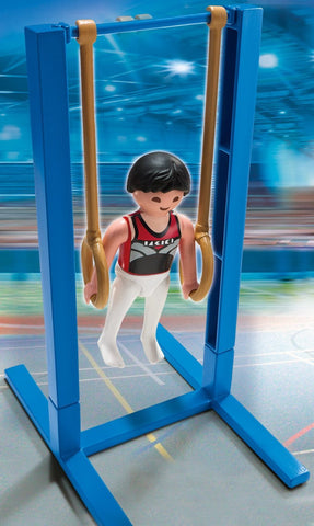 PLAYMOBIL 5189 OLYMPICS Gymnast (Rings)