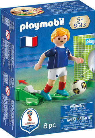 PLAYMOBIL 9513 FIFA WORLD CUP 2018 Football player FRANCE