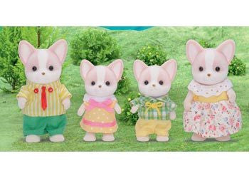 SYLVANIAN Chihuahua Dog Family