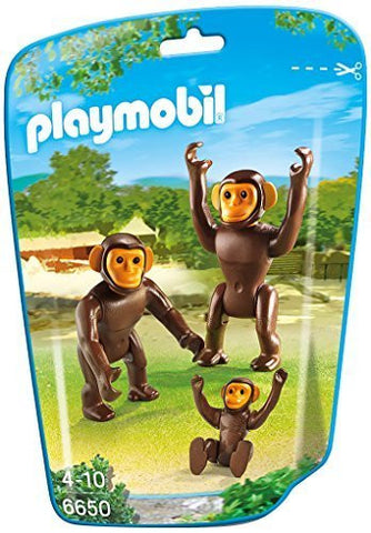 PLAYMOBIL 6650 ZOO Chimpanzee Family