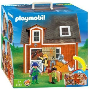 PLAYMOBIL 4142 Take Along Farm