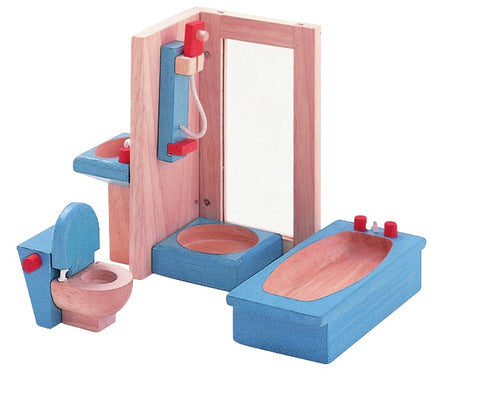 PLAN TOYS 7308 Bathroom Furniture NEO 5pcs