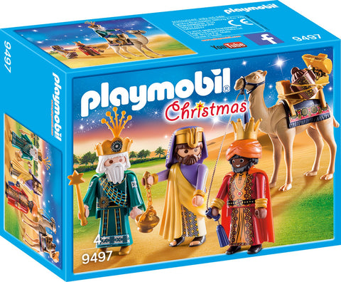 PLAYMOBIL 9497 CHRISTMAS Three Wise Kings set
