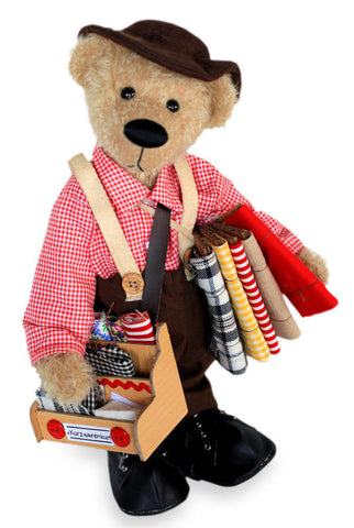 CLEMENS BEARS Teddy Bear KURZWARENKURT Ltd Edn Collectable 38cm