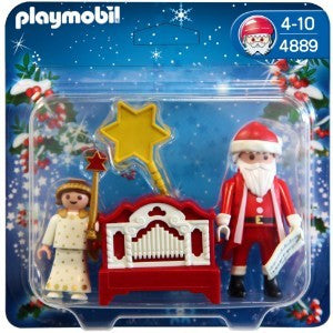 PLAYMOBIL 4889 Angel & Santa with organ