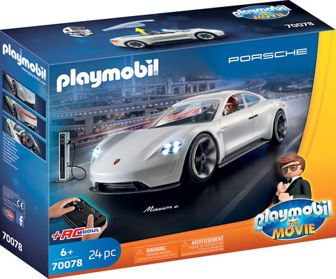 PLAYMOBIL 70078 THE MOVIE Rex Dasher with Porsche Mission E