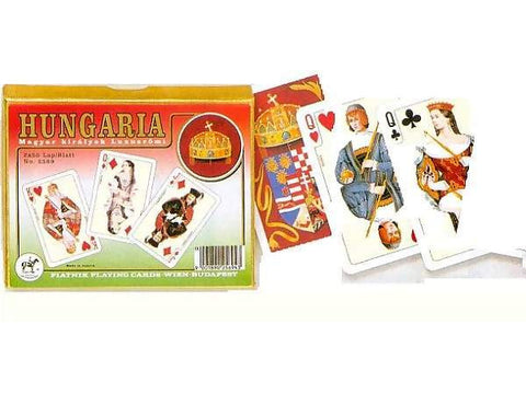Piatnik HUNGARIA DELUXE playing cards 2x55 cards