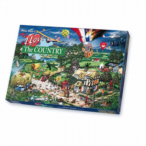 Gibson I LOVE THE COUNTRY 1000pc jigsaw