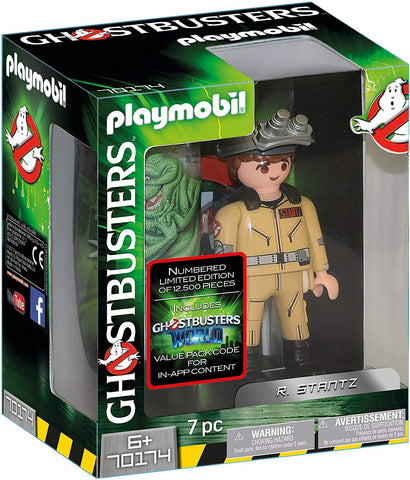 PLAYMOBIL 70174 GHOSTBUSTERS™ Collection Figure R. Stantz LTD EDN