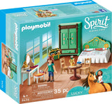 PLAYMOBIL 9476 SPIRIT RIDING FREE Lucky's Bedroom