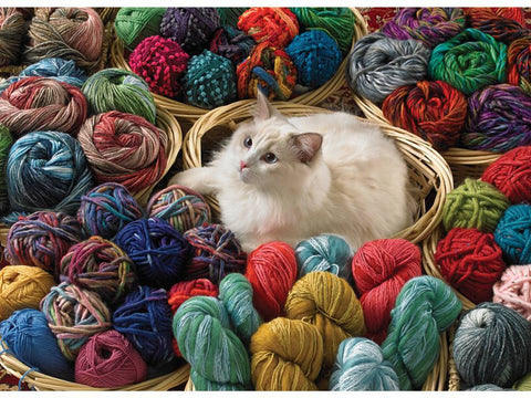Cobble Hill FUR BALL 1000pc jigsaw