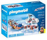 PLAYMOBIL 9057 ARCTIC EXPEDITION Husky-Drawn Sled