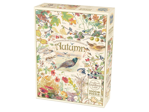 Cobble Hill COUNTRY DIARY OF AN EDWARDIAN LADY: AUTUMN 1000pc jigsaw