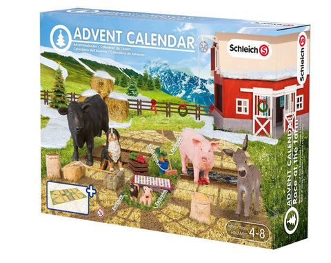 SCHLEICH 97052 FARM ANIMALS Advent Calendar 2015