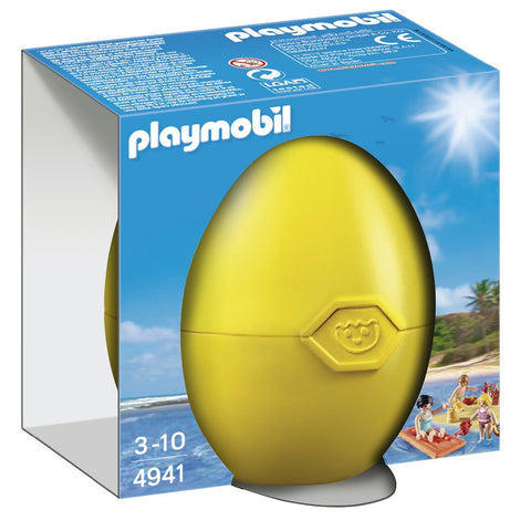 PLAYMOBIL 4941 EASTER EGG Summer Fun at the Beach set