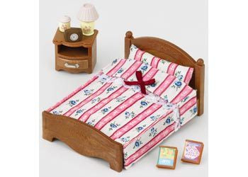 SYLVANIAN 5019 Semi-Double Bed
