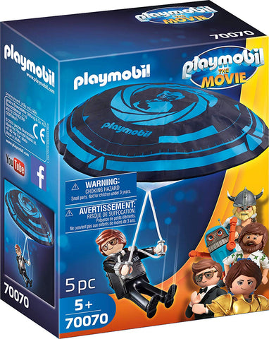 PLAYMOBIL 70070 THE MOVIE Rex Dasher with Parachute