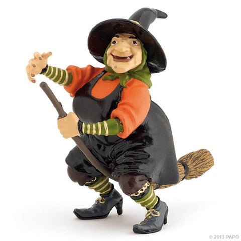 PAPO Witch on Broomstick