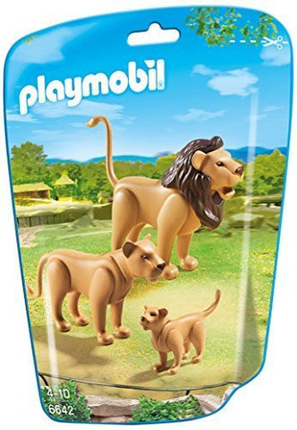 PLAYMOBIL 6642 ZOO Lion Family
