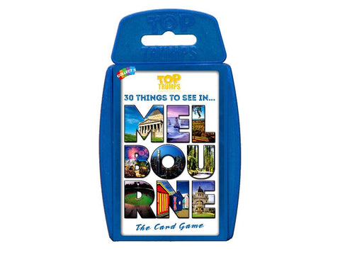 TOP TRUMPS Melbourne card game