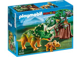PLAYMOBIL 5234 Explorer & Triceratops with Baby