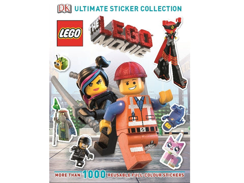 LEGO MOVIE sticker book