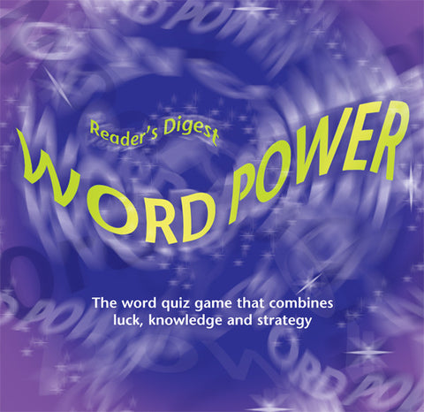 Reader's Digest WORD POWER board game
