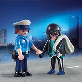 PLAYMOBIL 9218 DUO PACK Policeman and Burglar