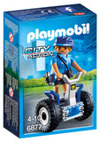 PLAYMOBIL 6877 CITY ACTION Police Woman with Balance Racer/Segway