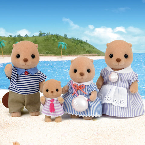 SYLVANIAN 4797 Sea Otter Family
