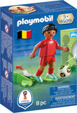PLAYMOBIL 9509 FIFA WORLD CUP 2018 Football player BELGIUM
