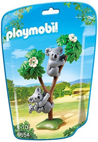 PLAYMOBIL 6654 ZOO Koala Family