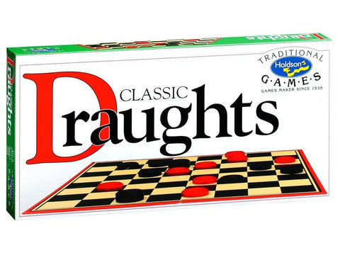 Holdson DRAUGHTS Classic board game
