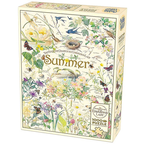 Cobble Hill COUNTRY DIARY OF AN EDWARDIAN LADY: SUMMER 1000pc jigsaw