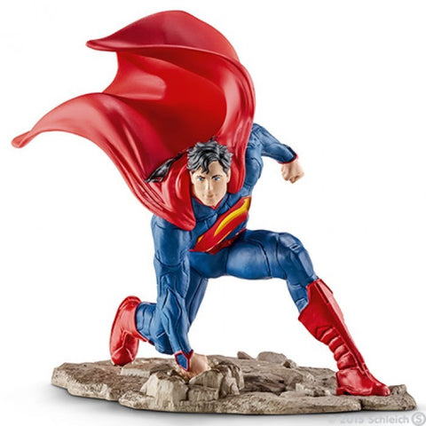 SCHLEICH 22505 Superman Kneeling Figurine
