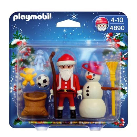 PLAYMOBIL 4890 Santa with Snowman