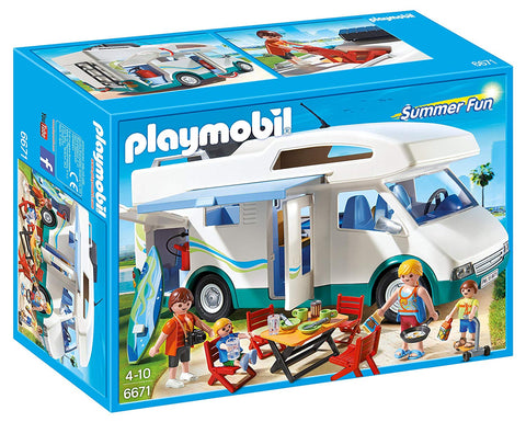 PLAYMOBIL 6671 SUMMER FUN Summer Campervan set