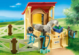 PLAYMOBIL 6935 COUNTRY Horse Stable with Appaloosa